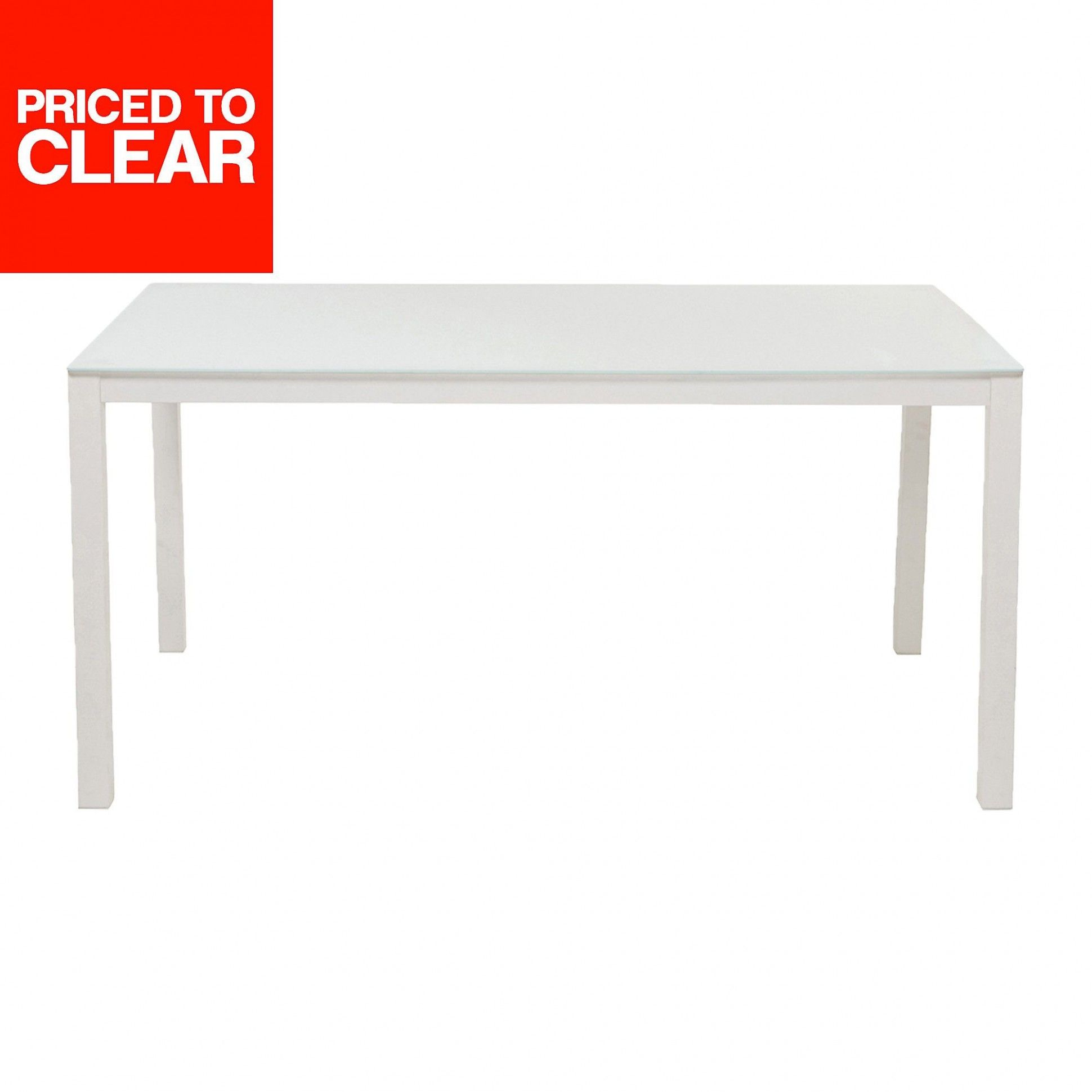 Dallas Metal 9 Seater Garden Table in 9  Metal dining table