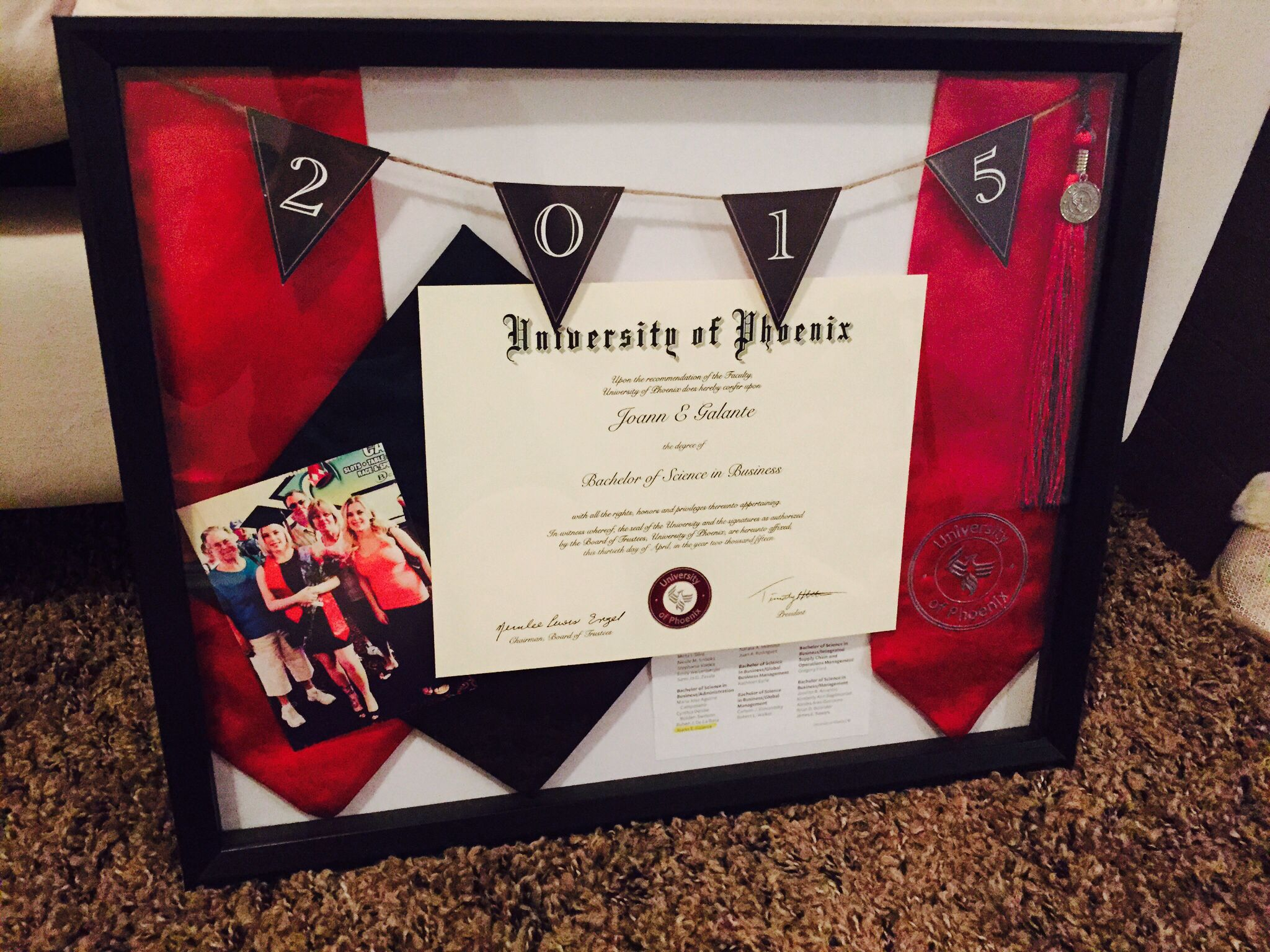 College graduation shadow box <333   For the Home   Pinterest ...