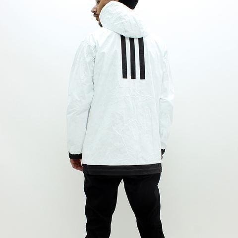 d2418cfedd16f Adidas Y3 M Rev Tyvek Reversible Jacket Black White - Pilot Netclothing