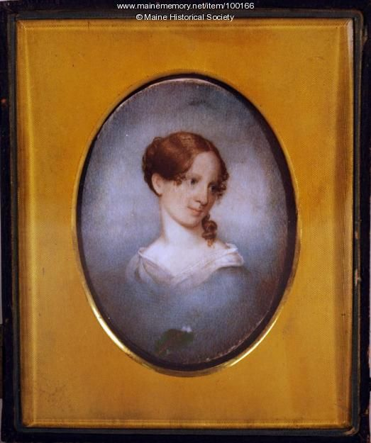 Mary Longfellow, Portland, 1836. Item # 100166 on Maine Memory Network