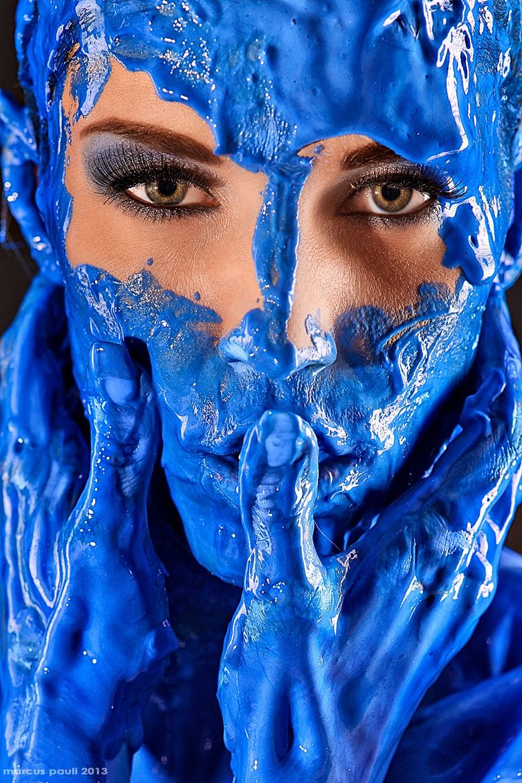 Fotografia Avatar De Marcus Pauli Na 500px Shocking Blue Blue Aesthetic Blue Bodies