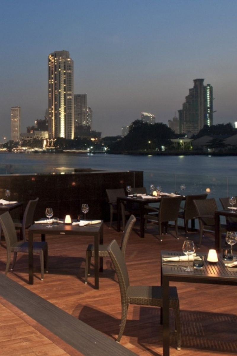 Spend an evening enjoying the views of the River in Bangkok