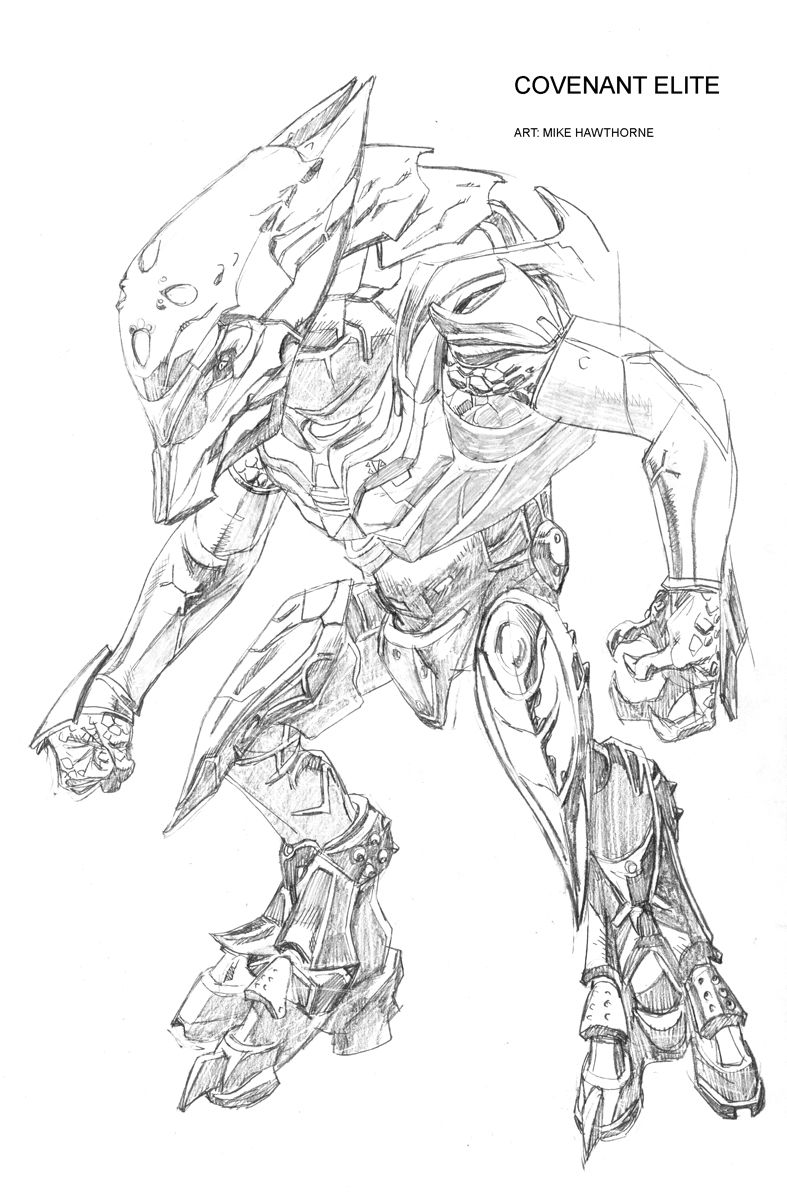 Halo 4 coloring pages - Halo Drawings Bing Images Halomonsterscoloring