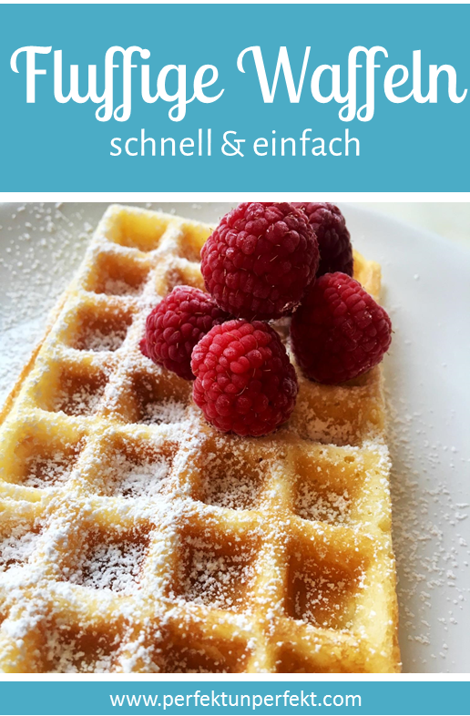 Photo of Fluffy waffles – a super quick and easy DIY recipe for a delicious …