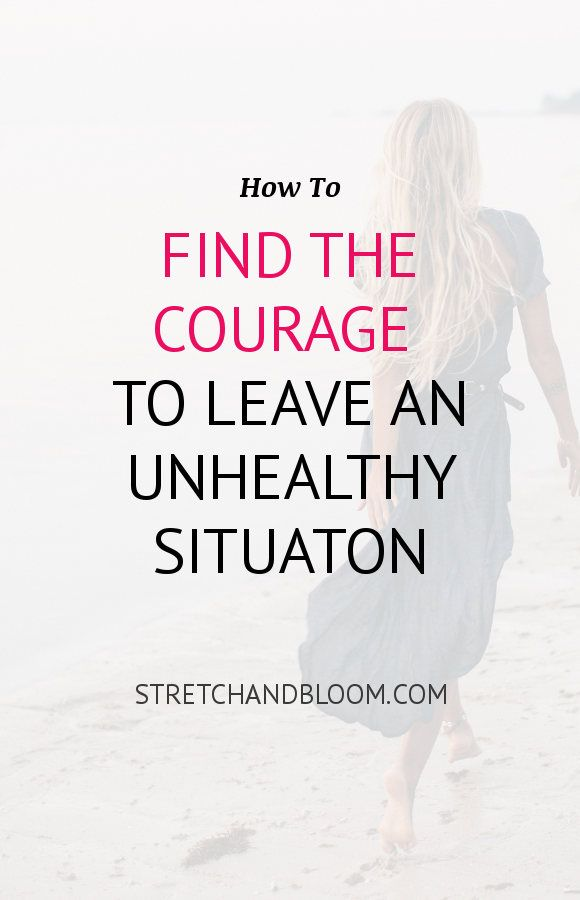 Photo of 7 steps to find the courage to leave any toxic situation
