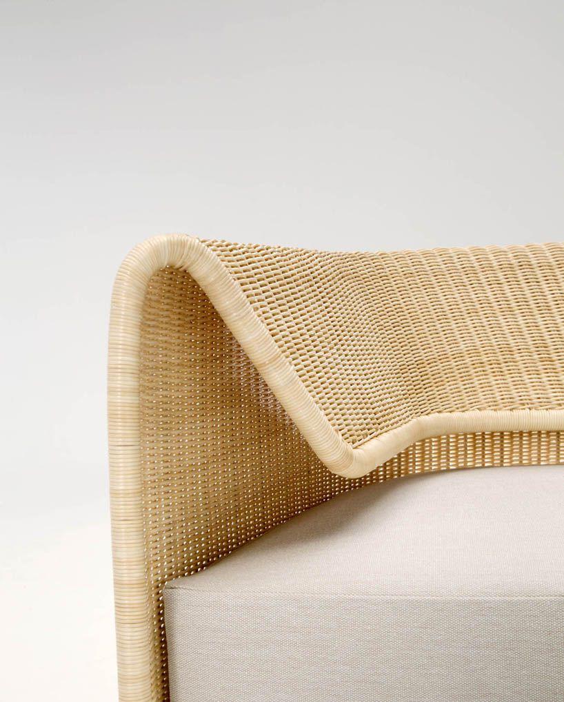 Hiroomi Tahara S Wrap Sofa For Yamakawa Rattan Seat Mobel Sofa
