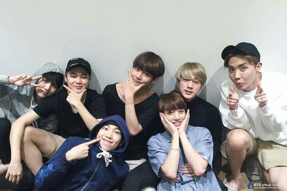 I Am Melting Namjoon Has A Photo Of Them All At His Desk In His Studio Bts Jungkook Bts Photo Bangtan