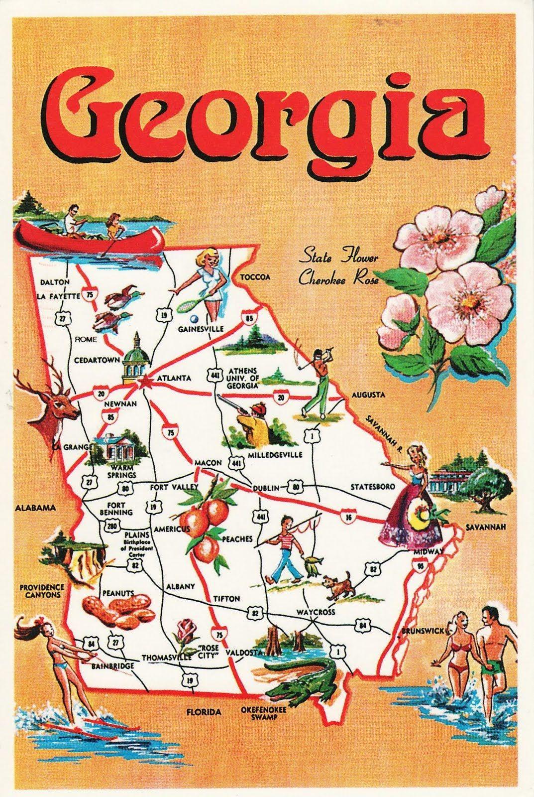 FileMap Of USA GAsvg Wikipedia Georgia USA Map Physical Map Of - Georgia usa airports map