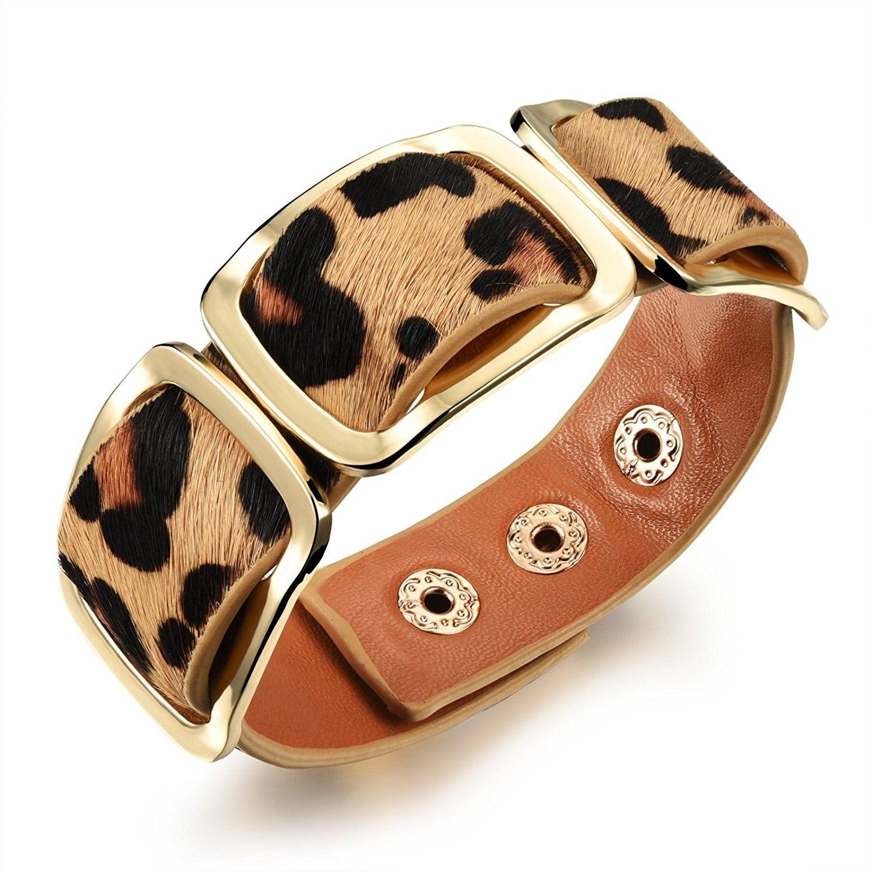 Jewelry retro wild design women rivet bracelet wide wrap