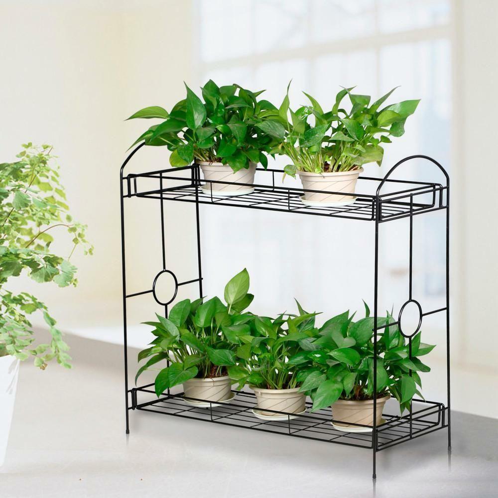 2 3 Tier Garden Plant Stand Indoor Outdoor Flower Rack Organizer Shelf Holder Plant Holder Ideas Of Plant Metal Plant Stand Plant Stand Plant Stand Indoor