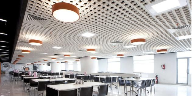 office false ceiling. Multi-purpose:False Ceilings Make Interiors Look Stylish And Spacious, If Properly Planned Office False Ceiling G