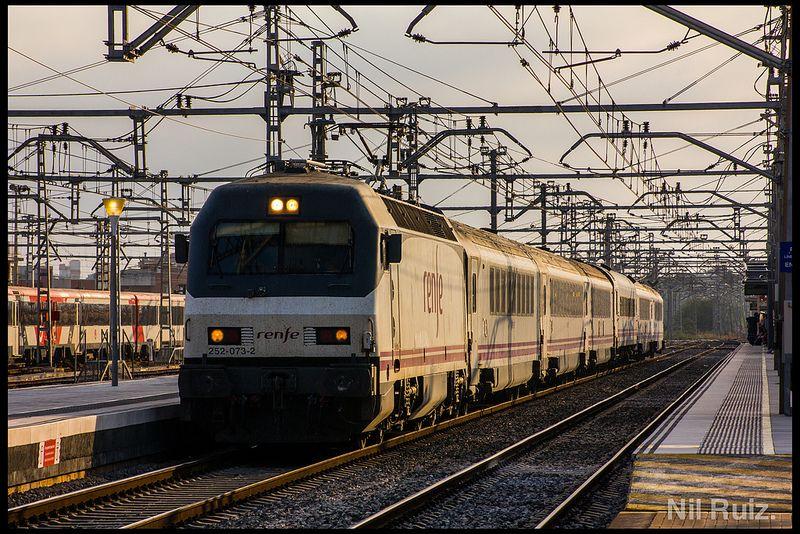 Arco García Lorca en Sant Vicenç. Train, Train travel