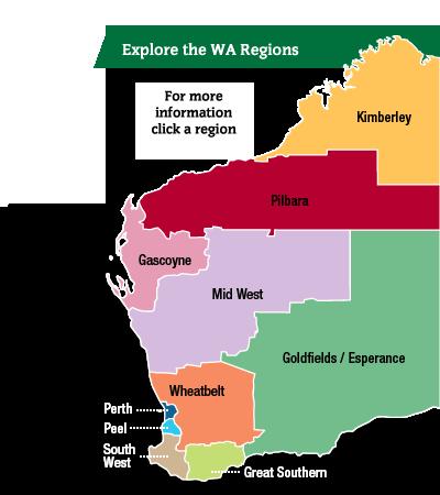 Regions Of Wa Western Australia West Region Region