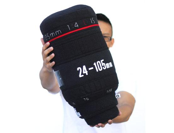 canon lens pillows