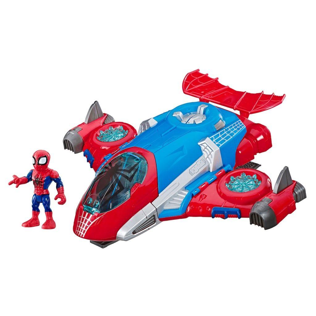 Playskool Heroes Marvel Super Hero Adventures Spider-Man VS Green Goblin Set
