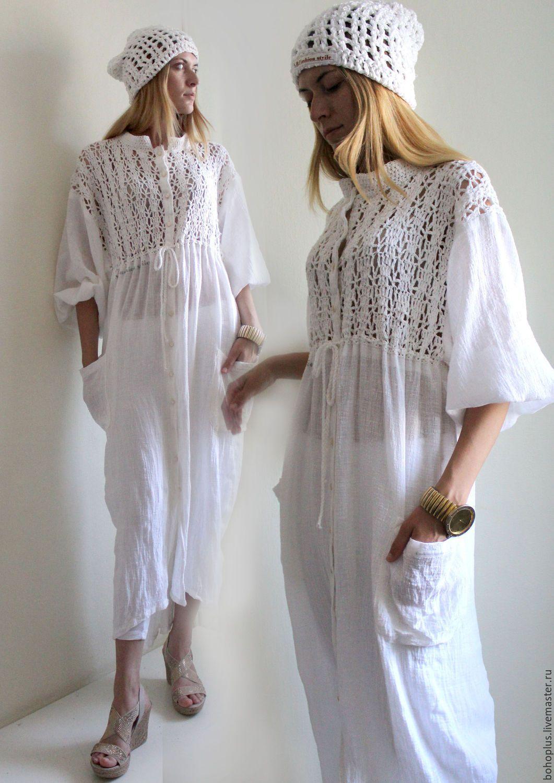 Купить платья из марлевки