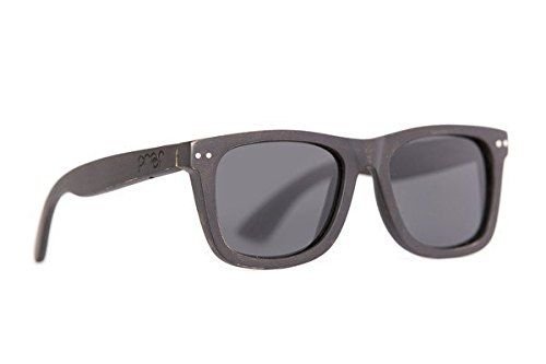 cc00c30d8c452 Proof Eyewear Unisex Chaplin Black Eco Wood Handcrafted Water Resistant  Wooden Sunglasses Black Maple 52 mm    You can find out more details at the  link of ...