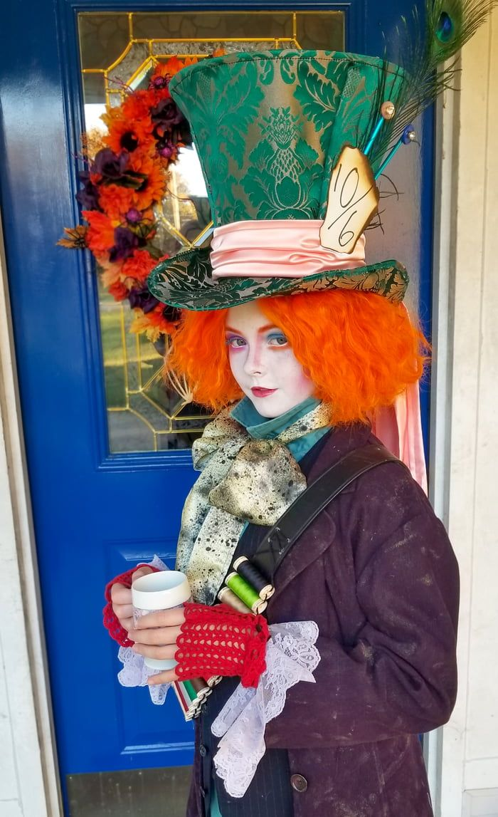 Happy Halloween from my little Mad Hatter. в 2020 г.