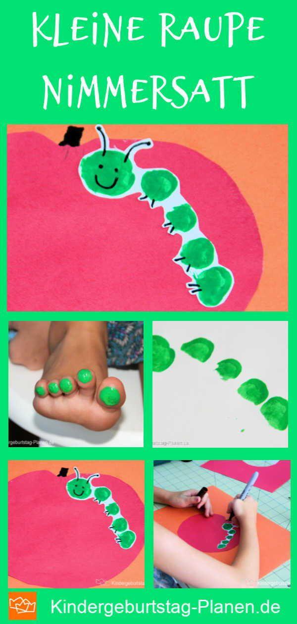 Photo of Caterpillar i eplet ⋆ Kindergeburtstag-Planen.de