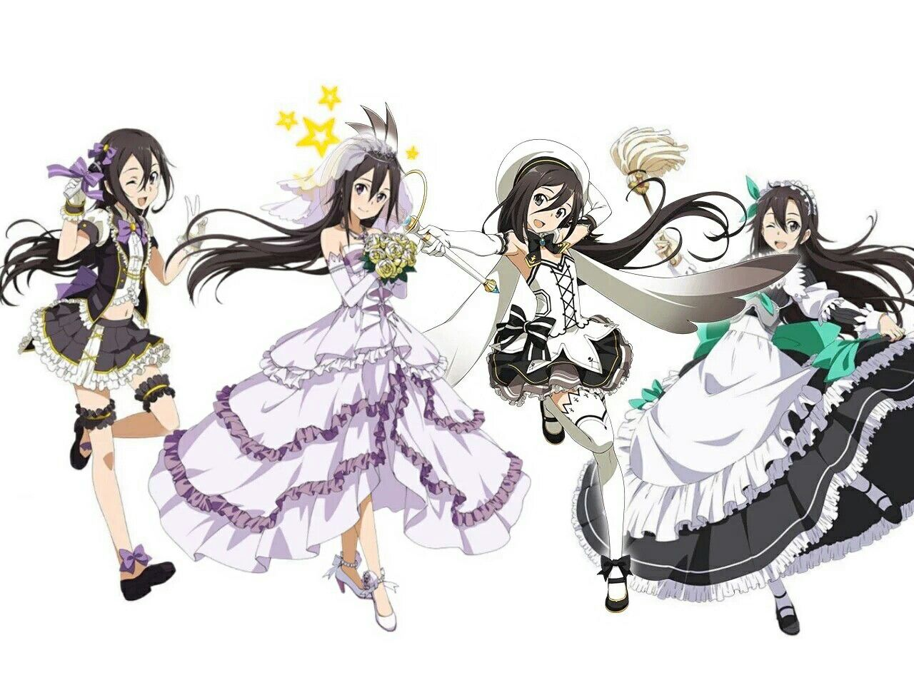 Dress up games favourites by asuna and kirito on deviantart - Kirito Sword Art Online