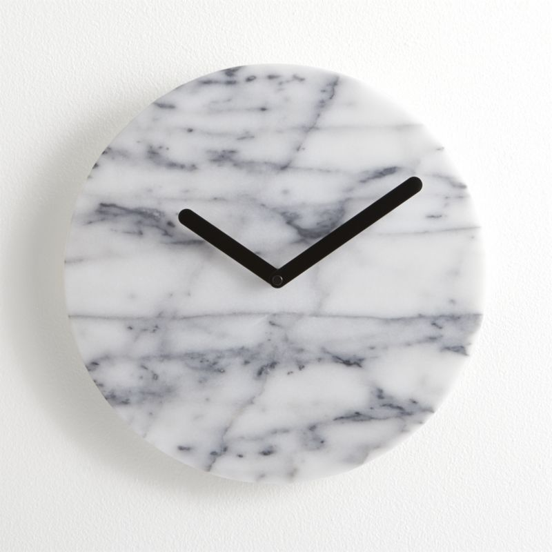 My Perfect Find On Likethat Decor Marble Clock Wall Clock Clock