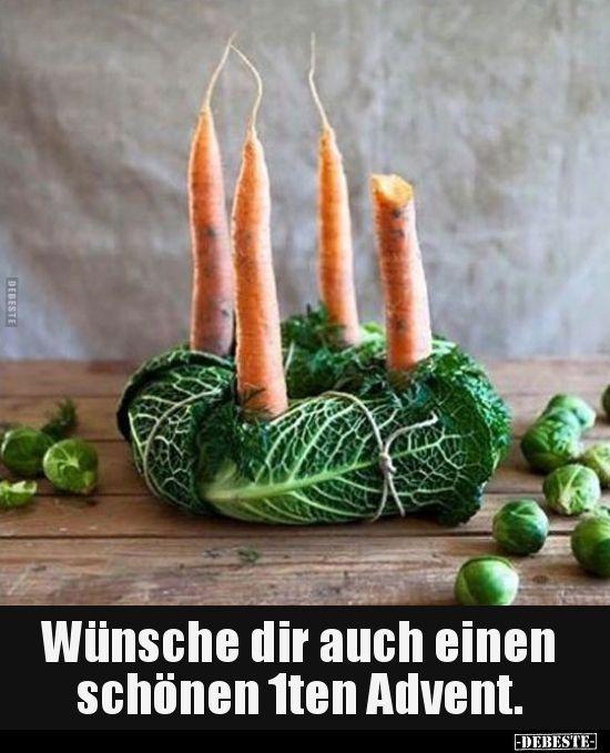 Wünsche dir auch einen schönen 1ten Advent... | Lustige Bilder, Sprüche, Witze, echt lustig #weihnachtssprüchelustig