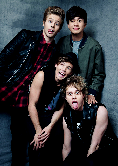 These new photos kill me! 5SOS <3 <3 5 Seconds of Summer