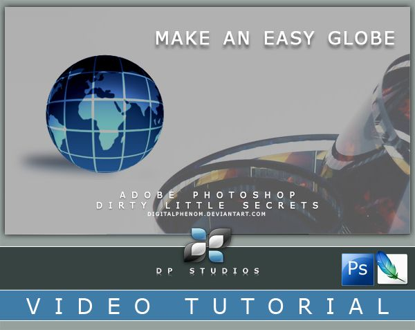 Globe Photoshop Video Tut