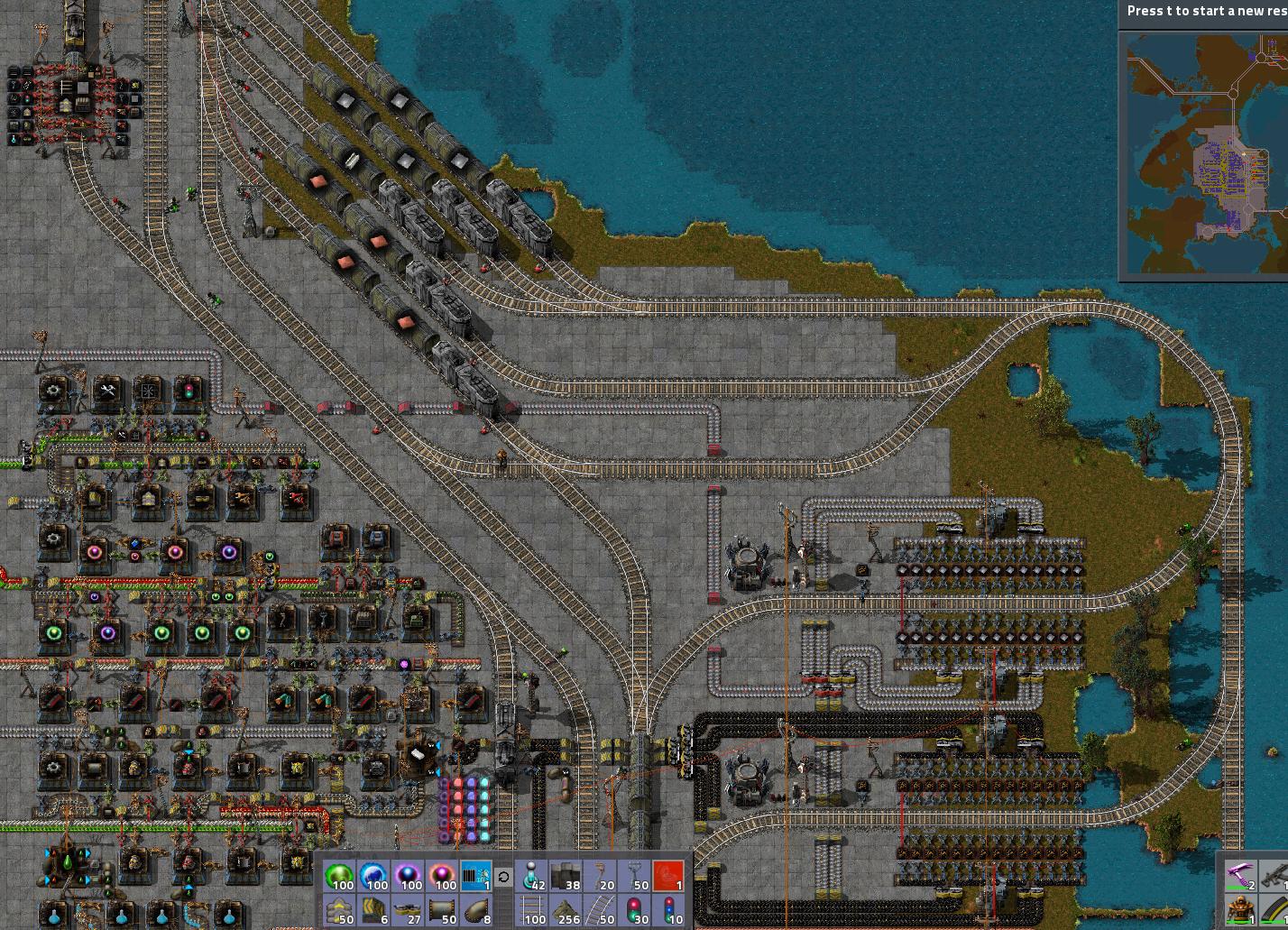 Factorio Steel Blueprint - 0425