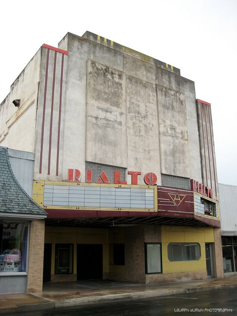 Rialto Theatre Alice Texas Forsaken Places Rialto Theater