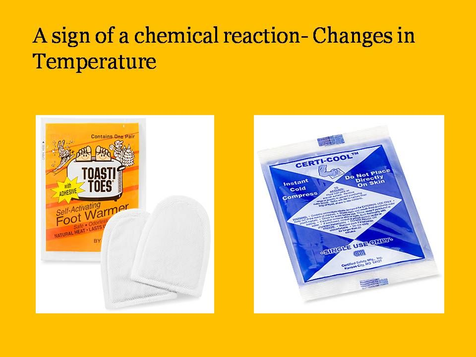 Chemical Reaction Endothermic Exothermic A Change In Temperature