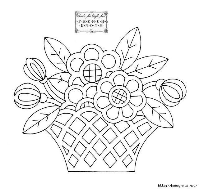 Шаблон букета цветов для вырезания, оптовые