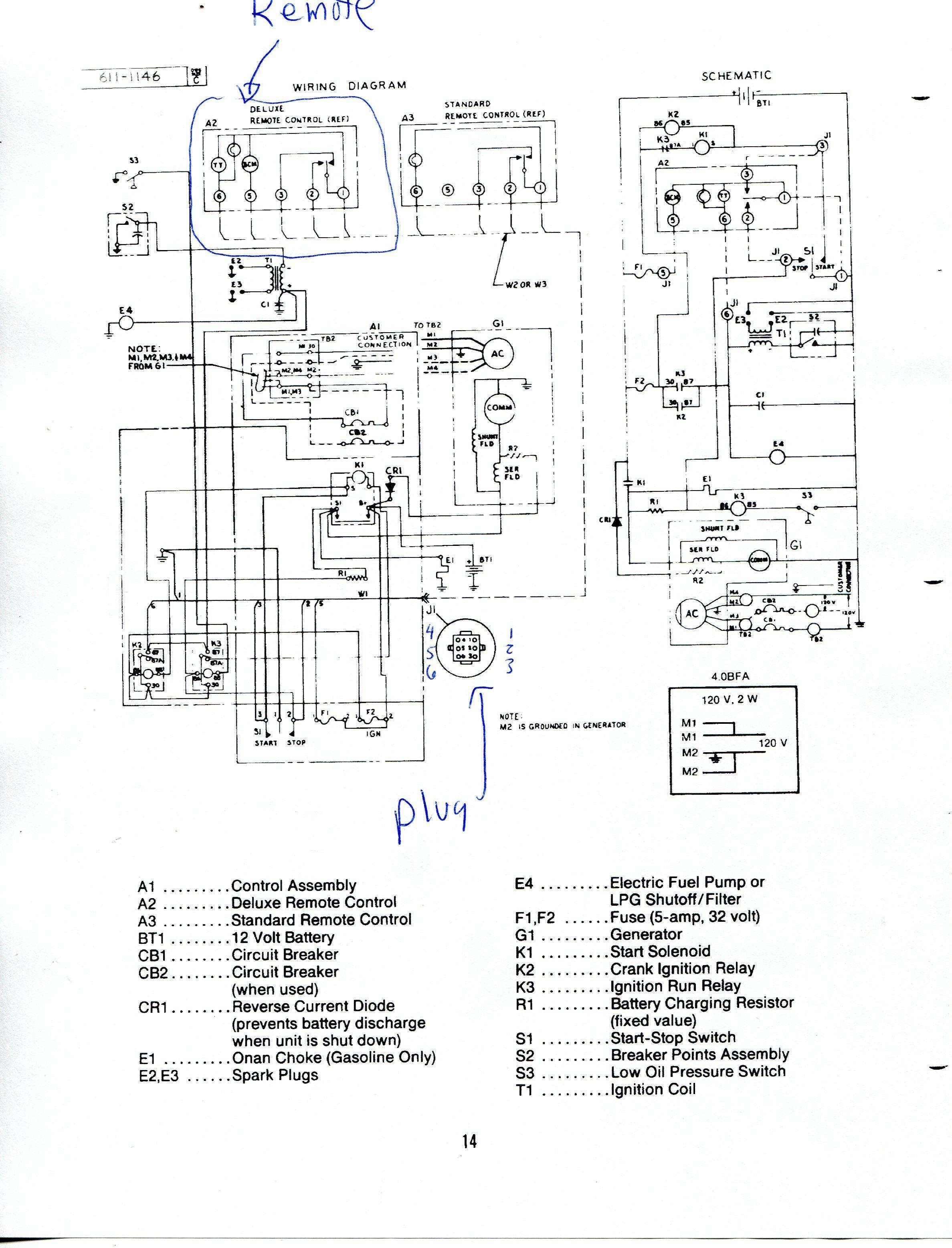Onan Generator Wiring Diagram Awesome In 2020