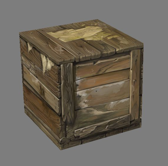 Box Old Crate
