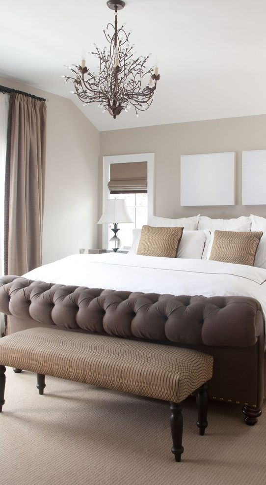 earth tones in the bedroom bedroom bench pinterest