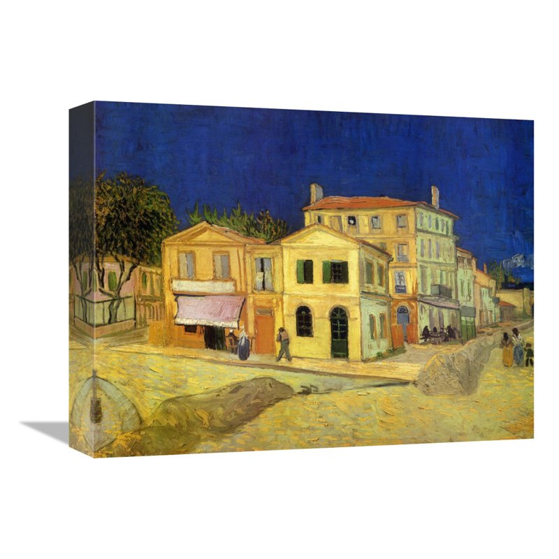 Global Gallery The Yellow House 1888 Wall Art - GCS-374561-16-142 ...