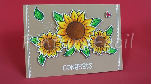 Detalles Especiales Para Regalar Como Hacer Tarjetas De Girasoles En 3d Congrats Sunflower Enamel Pins