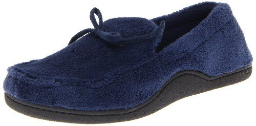 Isotoner Men's Microterry Boater Moc... $13.00 #bestseller