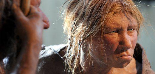 Verraterische Erbgutspuren Moderne Menschen Paarten Sich Mit Neandertalern Spiegel Online Neandertaler Der Moderne Mensch Mensch
