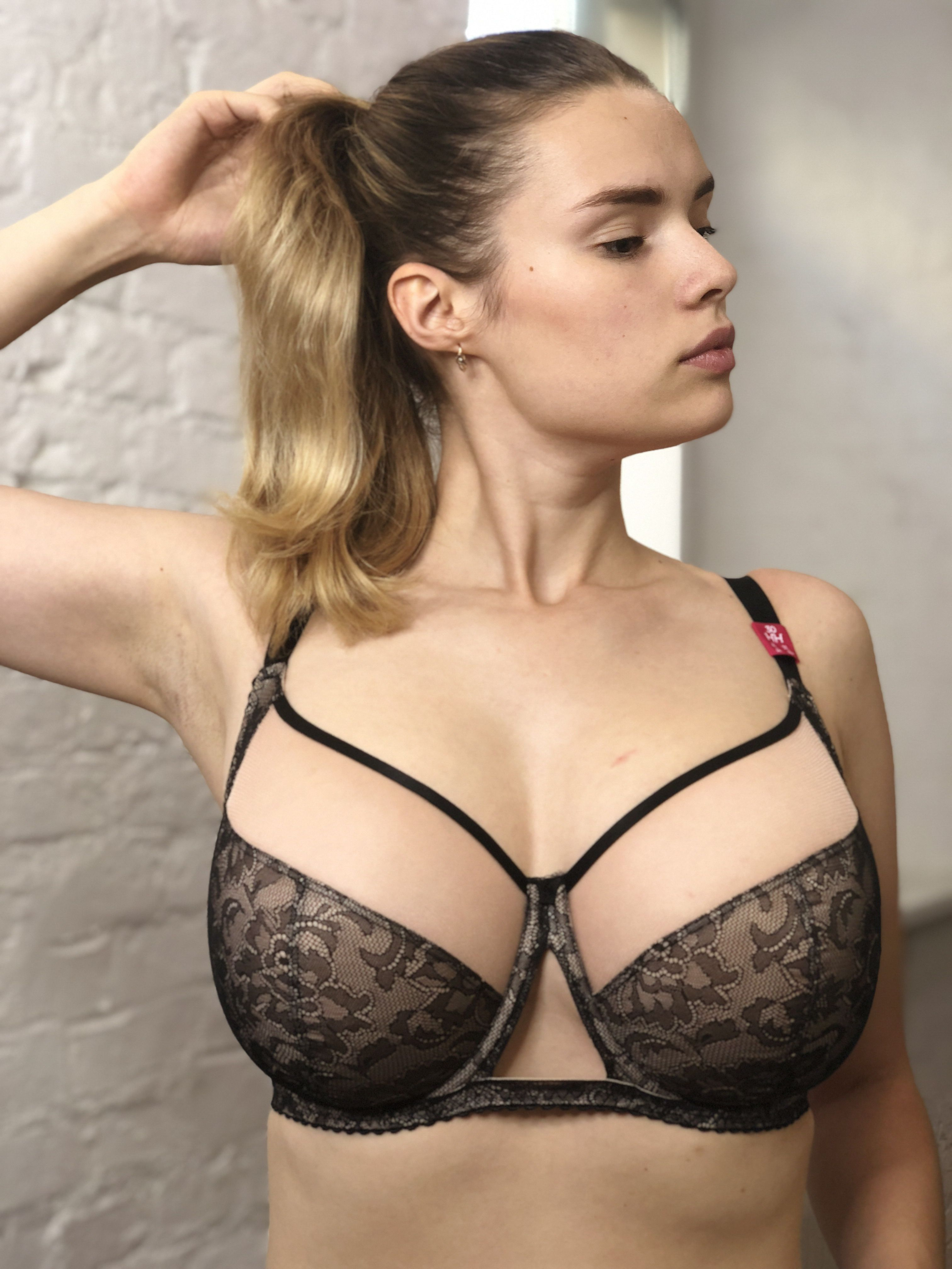 4af06224fbecb Curvy Kate Victory Amore Bra (Black Rose) | woman | Bra, Bra shop, Black