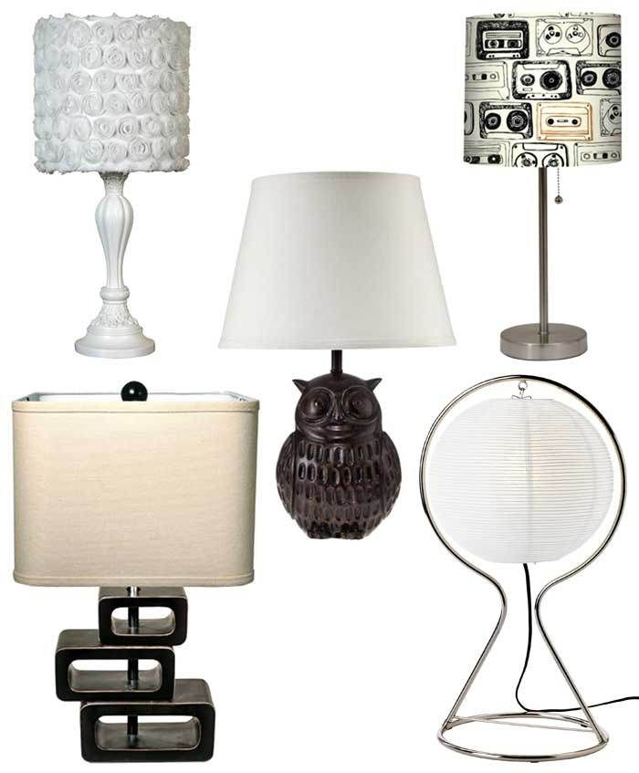 Studio Lighting On A Budget: Tall Affordable Table Lamps (under $40)