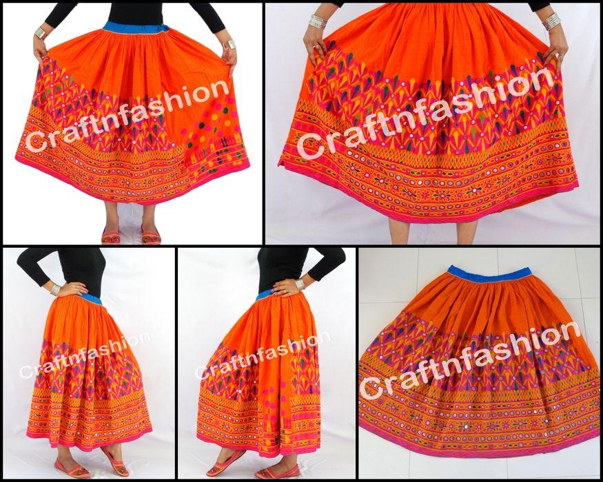 9d583dad87 Gypsy Rabari Skirt Vintage Banjara Skirt Hand Embroidered Skirt Authentic  Banjara Skirt Tribal Skirt by ,