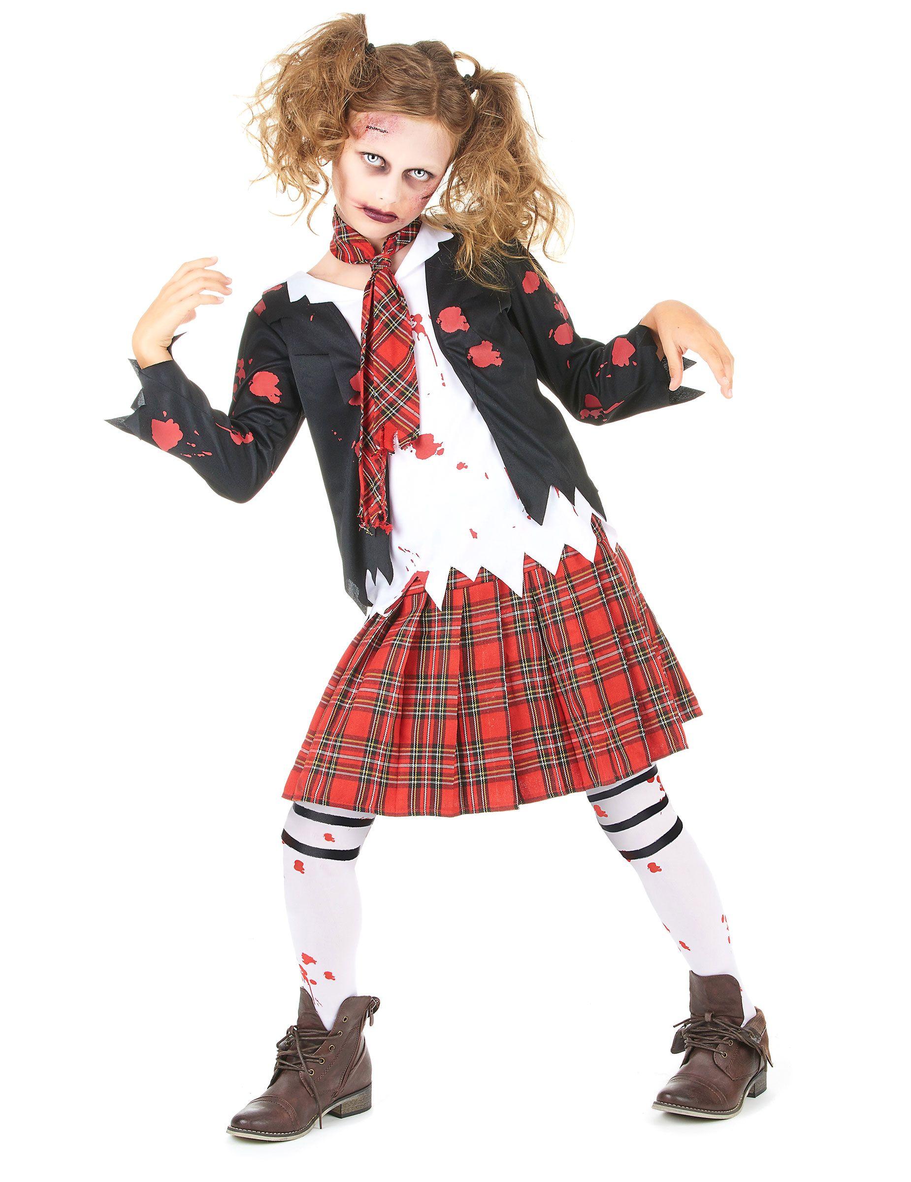 Quatang Gallery- Deguisement Ecoliere Zombie Fille Halloween Deguise Toi Achat De Deguisements Enfants Deguisement Ecoliere Costume Halloween Deguisement Enfant Halloween