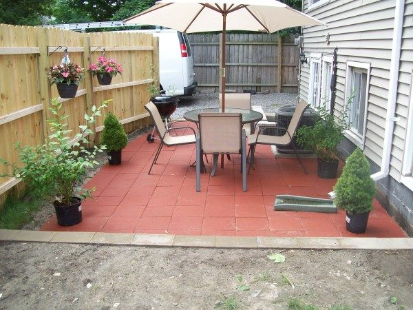 How To Install A Small Patio
