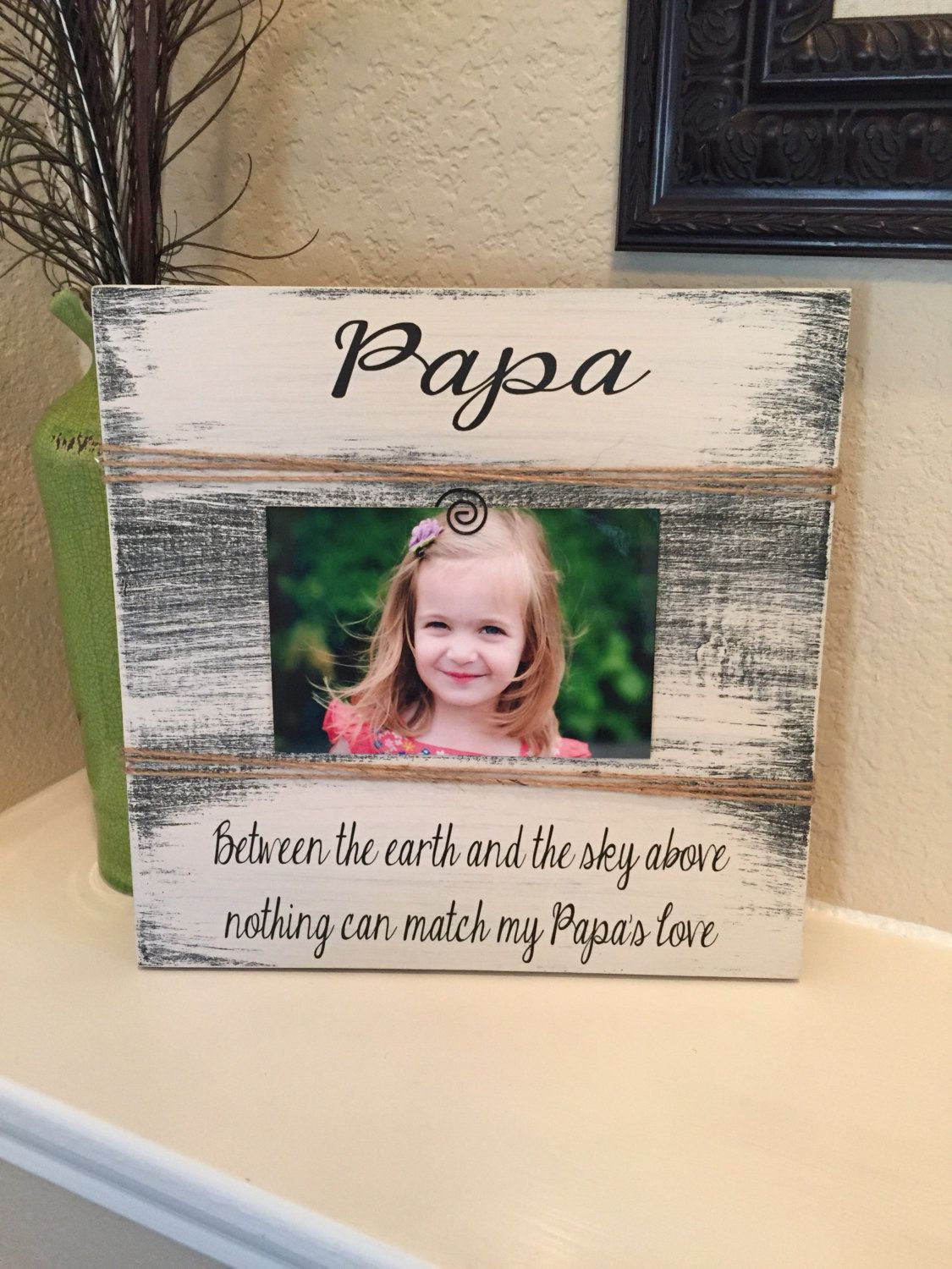 Papa Frame Gift Grandpa Uncle Gift Frame Gift For Brother I Love My