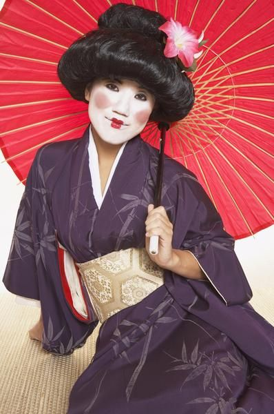 Steps to Japanese Traditional Dance Entertainment Guide Makeup