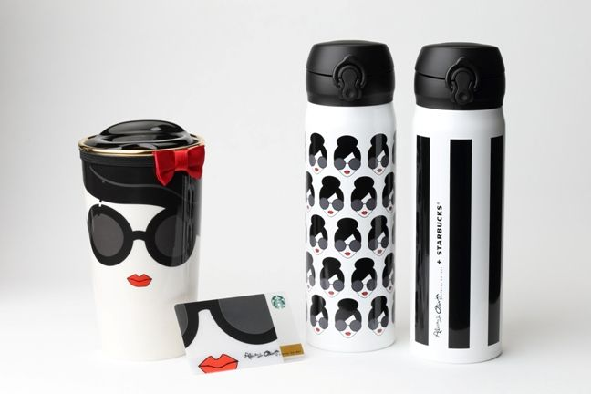 Charming Collaboration Goods Of Starbucks Japan With Alice + Olivia: Release On JUN  24. So