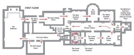 Plan Of Buckingham Palace Buckingham Palace Floor Plan