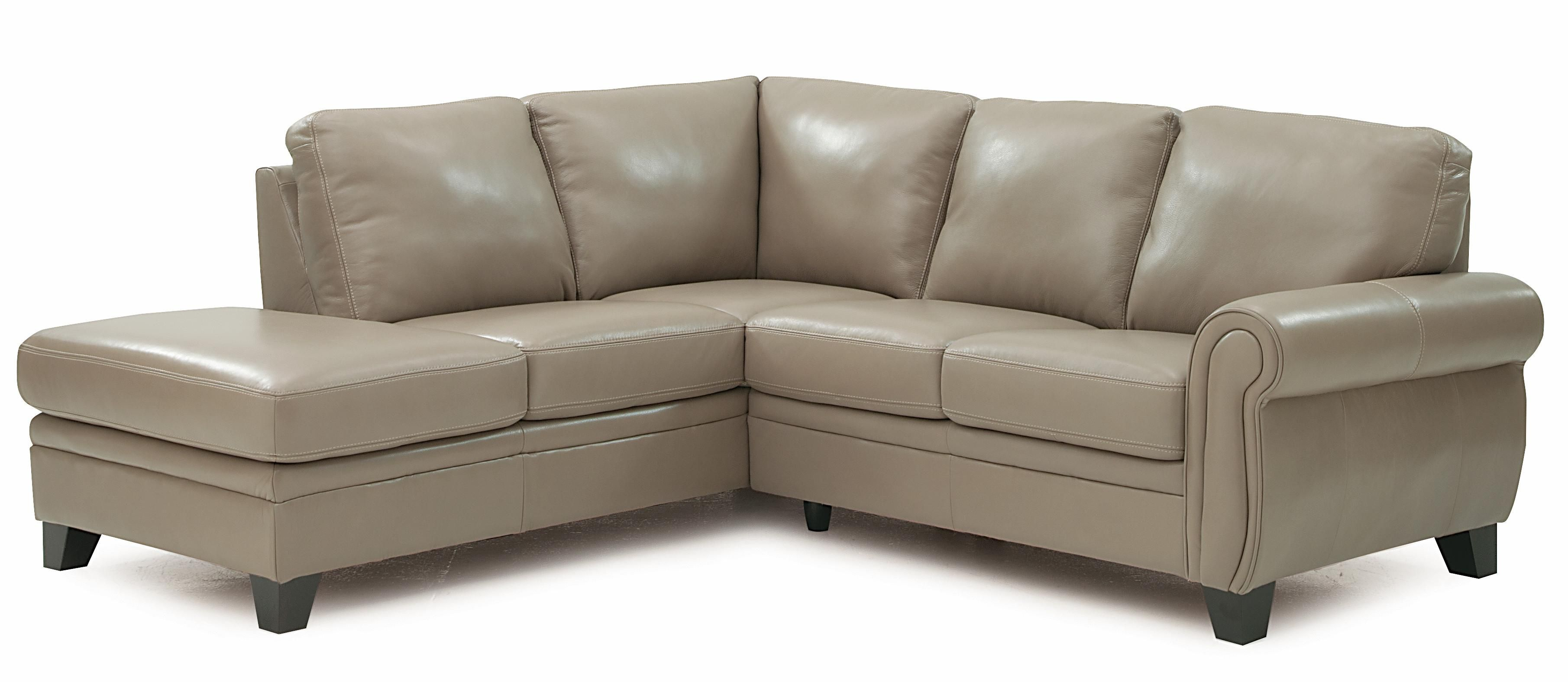 Meadowridge Two Piece Sectional Sofa With Rolled Panel