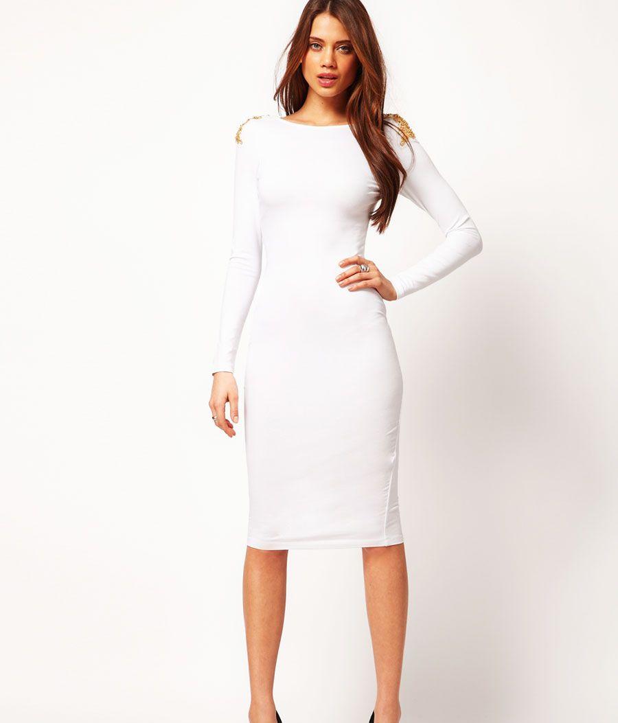 457ec3910b como usar un vestido blanco en invierno - Buscar con Google ...